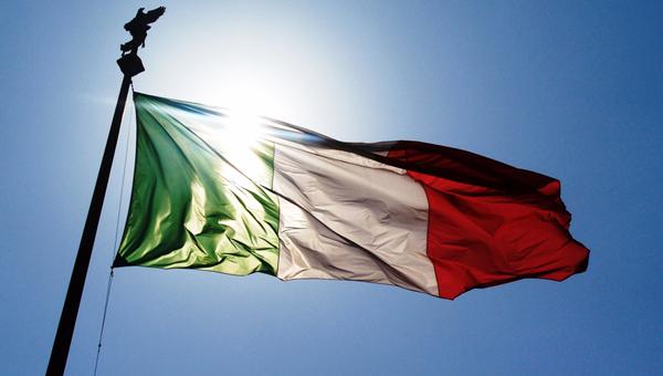 Italia, Bandiera, Flag, Aziende,