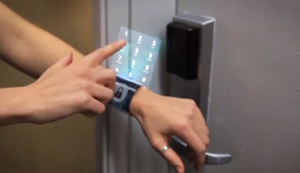 iWatch, Hologram