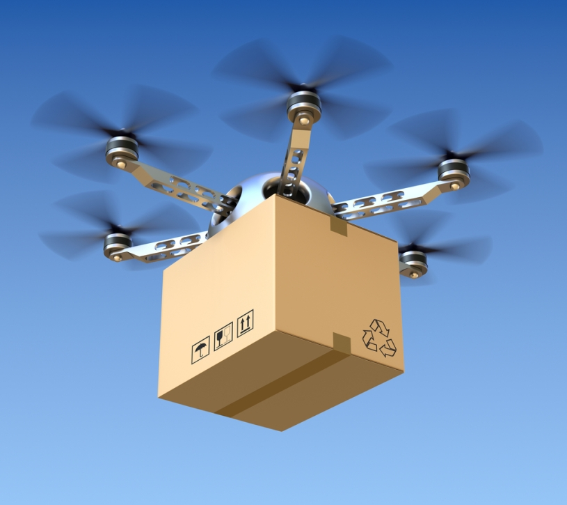 Drone, Amazon, Spedizioni, E-Commerce