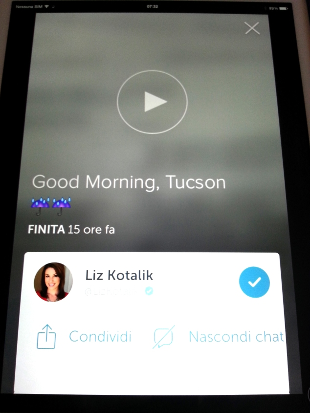Liz Kotalik Tucson News on Periscope